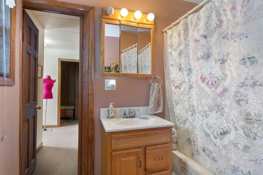 Real Estate Photography - 516 Wabash Street, Michigan City, IN, 46360 - Bathroom