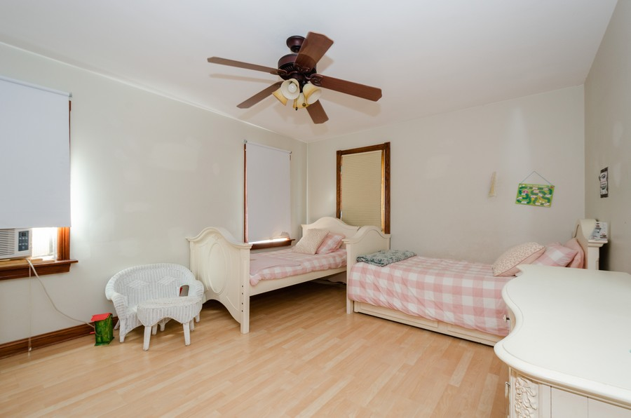 Real Estate Photography - 2938 Pratt, Chicago, IL, 60647 - 2nd Bedroom