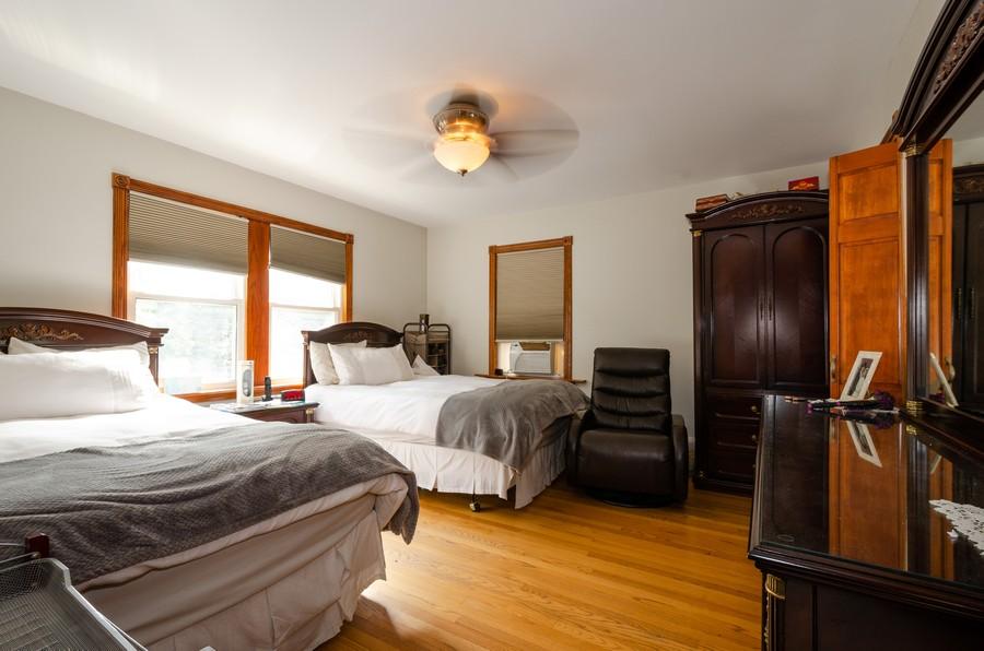 Real Estate Photography - 2938 Pratt, Chicago, IL, 60647 - Bedroom