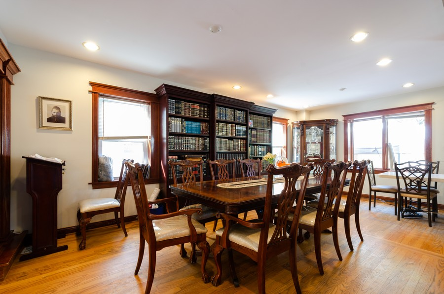 Real Estate Photography - 2938 Pratt, Chicago, IL, 60647 - Dining Room
