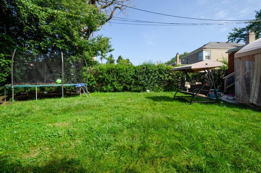 Real Estate Photography - 2938 Pratt, Chicago, IL, 60647 - Back Yard