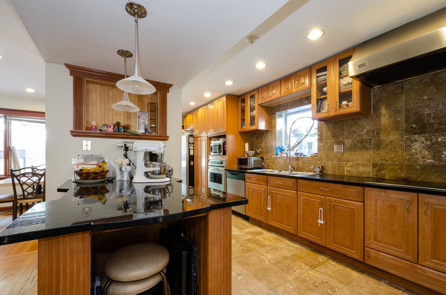 Real Estate Photography - 2938 Pratt, Chicago, IL, 60647 - Kitchen