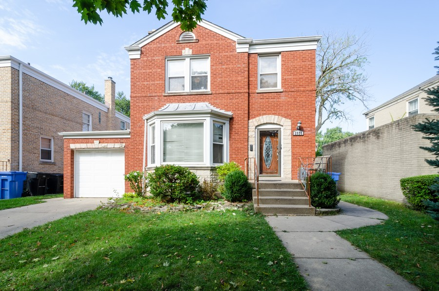 Real Estate Photography - 2938 Pratt, Chicago, IL, 60647 - Front View