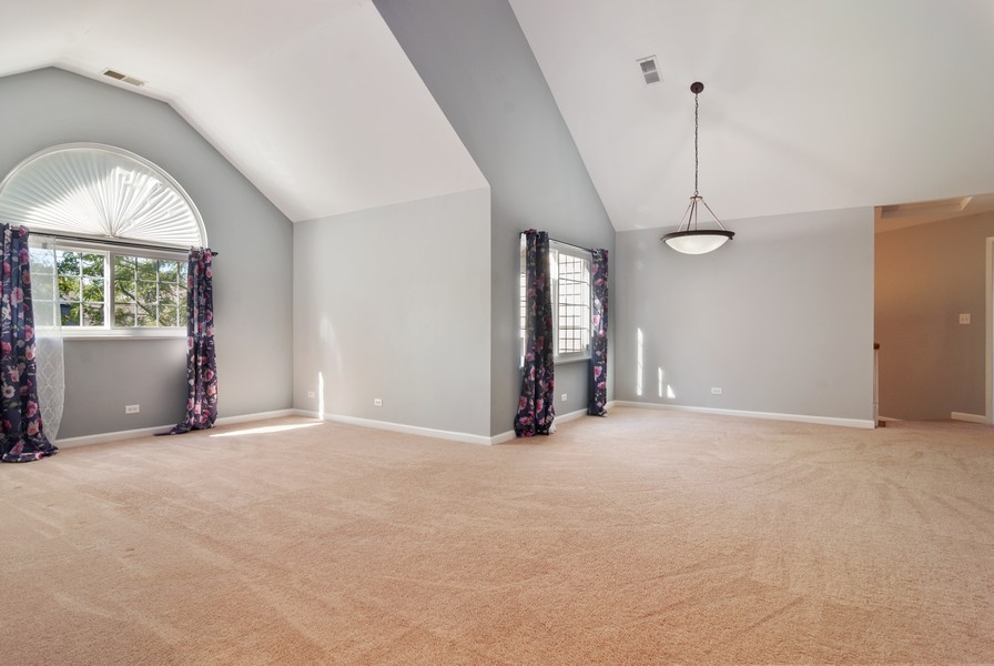 Real Estate Photography - 114 Hillwood Pl, Aurora, IL, 60506 - Living Room / Dining Room