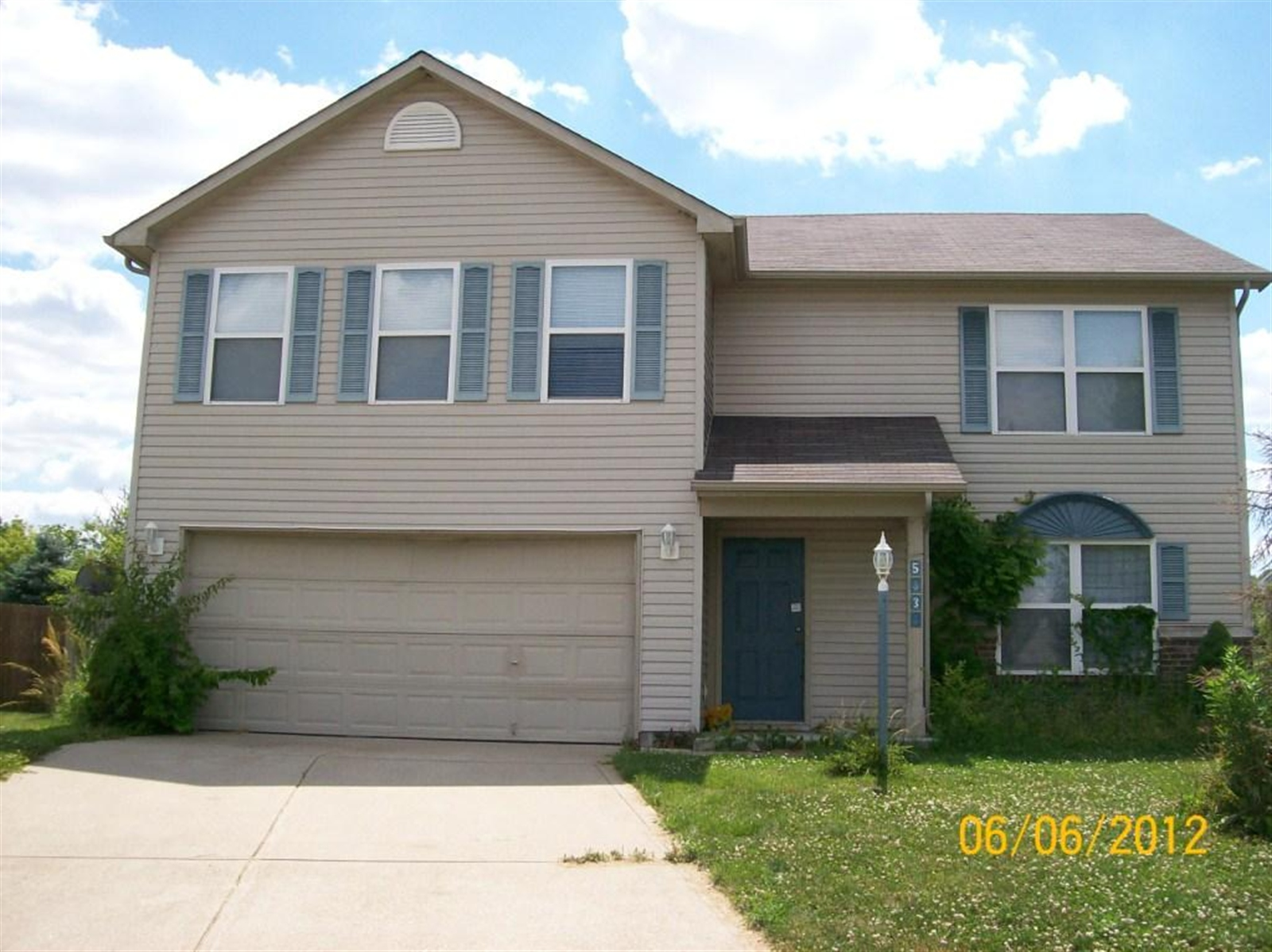 Real Estate Photography - 5838 Brambleberry Ct, Indianapolis, IN, 46239 - Location 1