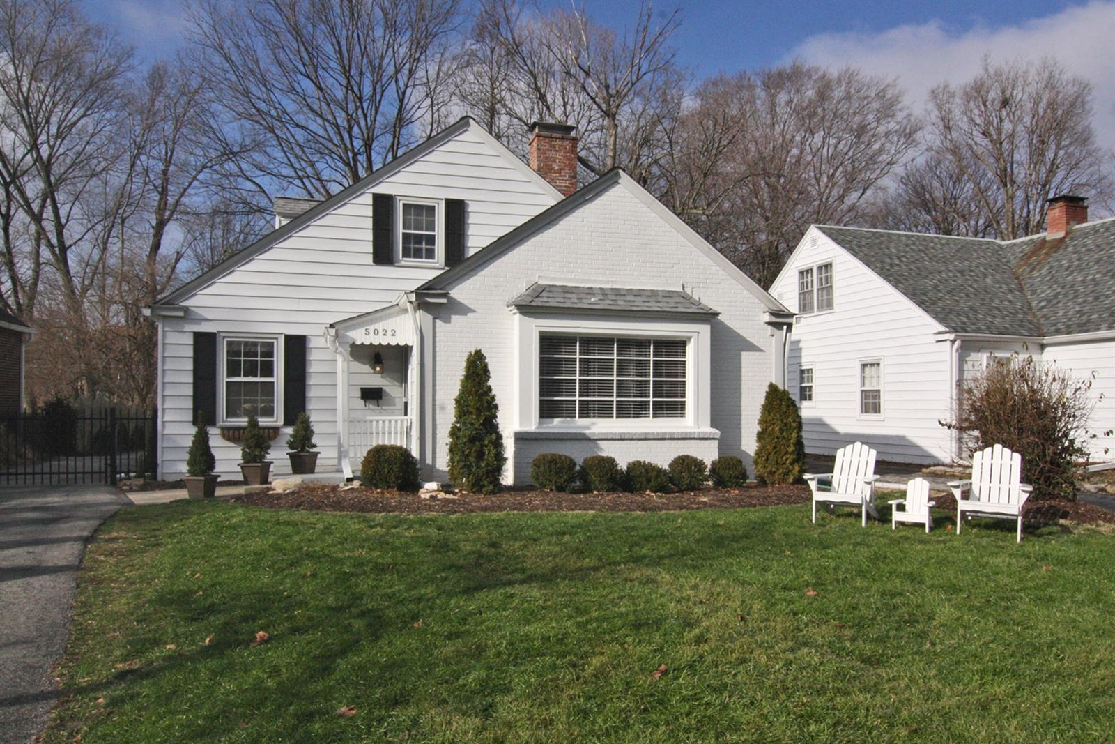 Real Estate Photography - 5022 Graceland Ave, Indianapolis, IN, 46208 - Location 1