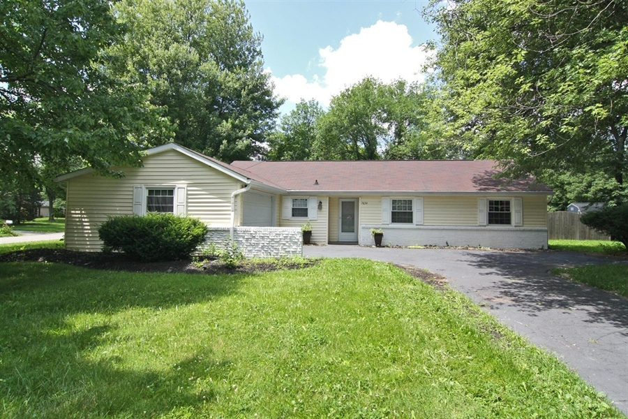 Real Estate Photography - 7654 Grandview Dr, Indianapolis, IN, 46260 - Location 1