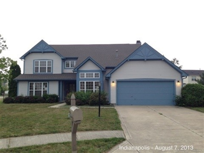 Real Estate Photography - 3521 Waterstone Cir, Indianapolis, IN, 46268 - Location 1