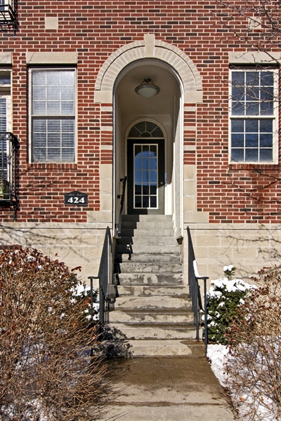 Real Estate Photography - 424 E Ohio St, # 3/B, Indianapolis, IN, 46204 - Location 2
