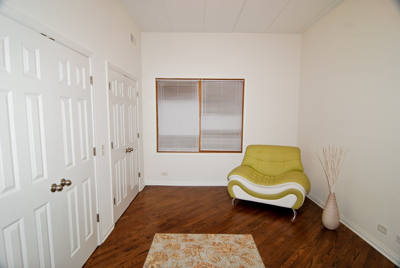 Real Estate Photography - 2805 N 75th Ct, Unit 1B, Elmwood Park, IL, 60707 - 2nd Bedroom