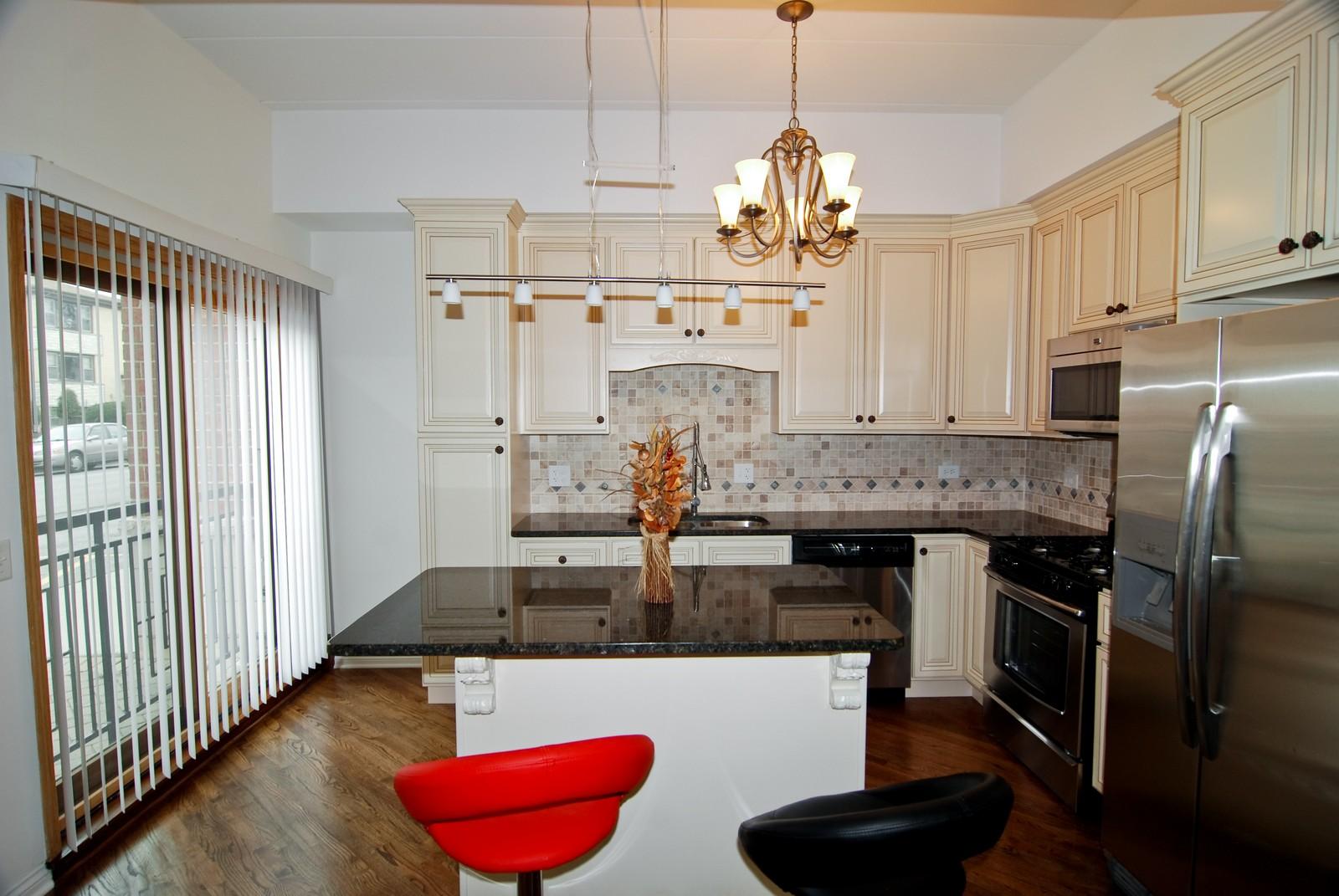 Real Estate Photography - 2805 N 75th Ct, Unit 1B, Elmwood Park, IL, 60707 - Kitchen