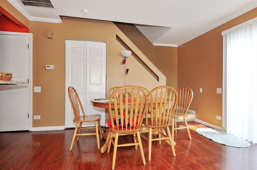 Real Estate Photography - 311 Bunker Hill, Aurora, IL, 60504 - Dining Room
