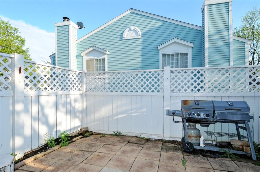 Real Estate Photography - 311 Bunker Hill, Aurora, IL, 60504 - Patio