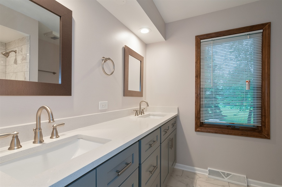 Real Estate Photography - 2868 Valley Forge Rd, Lisle, IL, 60532 - Master Bathroom