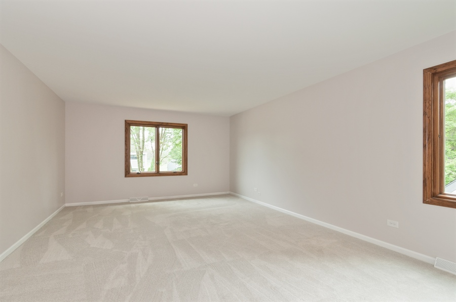Real Estate Photography - 2868 Valley Forge Rd, Lisle, IL, 60532 - Master Bedroom
