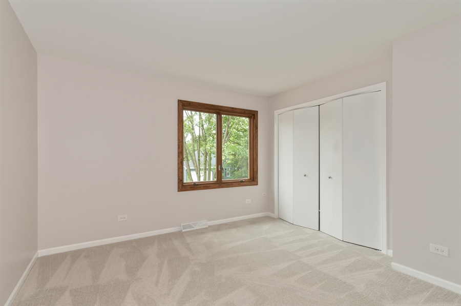 Real Estate Photography - 2868 Valley Forge Rd, Lisle, IL, 60532 - 2nd Bedroom