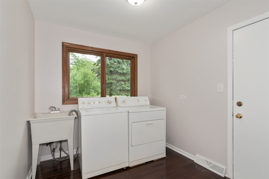 Real Estate Photography - 2868 Valley Forge Rd, Lisle, IL, 60532 - Laundry Room