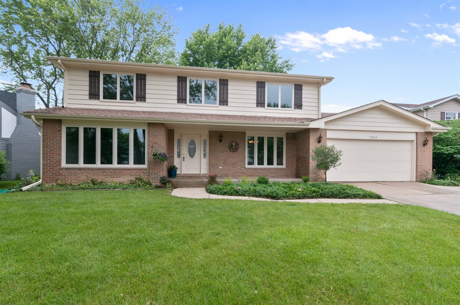 Real Estate Photography - 2868 Valley Forge Rd, Lisle, IL, 60532 - Front View