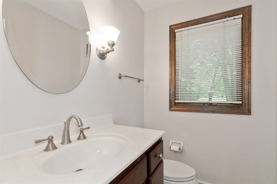 Real Estate Photography - 2868 Valley Forge Rd, Lisle, IL, 60532 - Bathroom