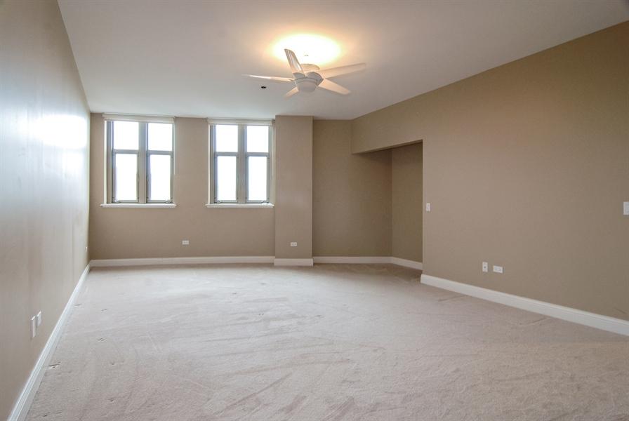 Real Estate Photography - 520 S Washington, Unit 501, Naperville, IL, 60540 - Master Bedroom