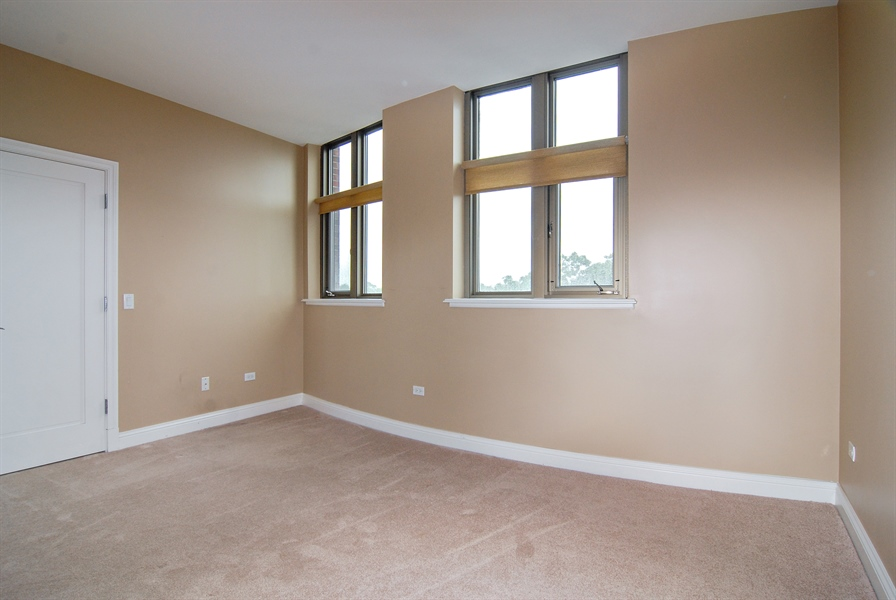 Real Estate Photography - 520 S Washington, Unit 501, Naperville, IL, 60540 - 2nd Bedroom