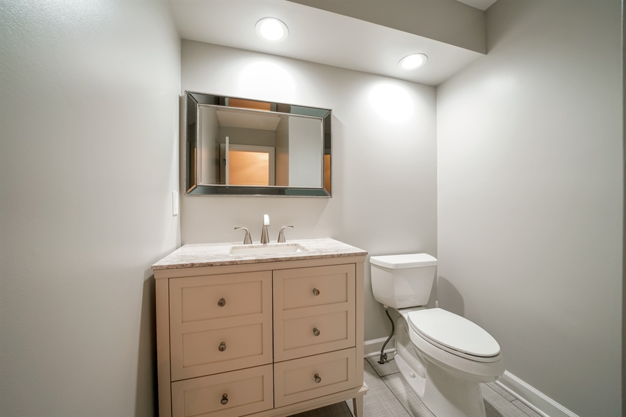 Real Estate Photography - 29 Tartan Lakes Way, Westmont, IL, 60559 - Powder Room