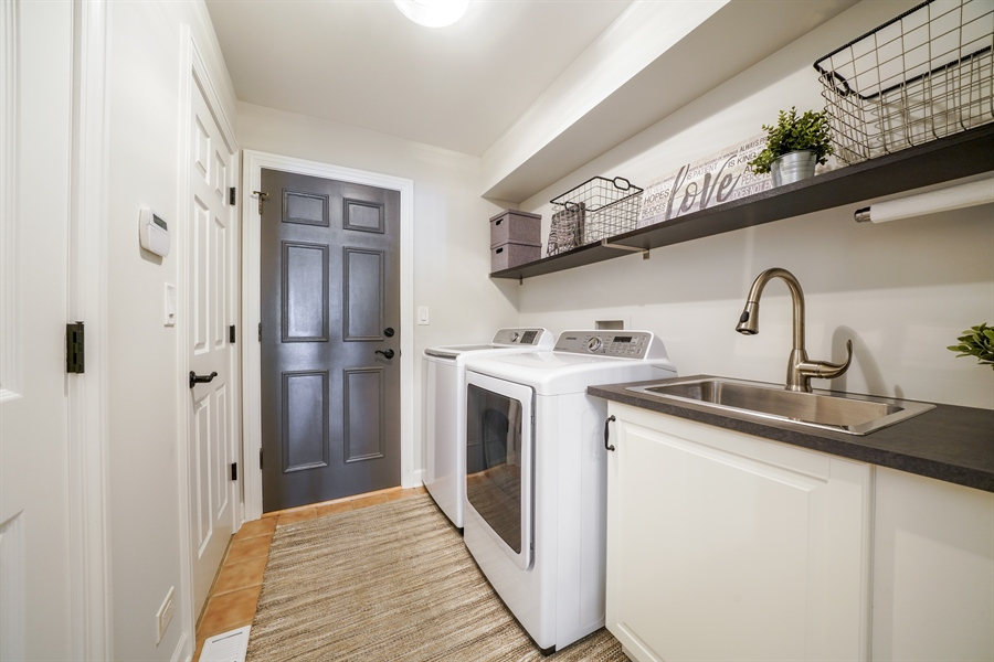 Real Estate Photography - 29 Tartan Lakes Way, Westmont, IL, 60559 - Laundry Room