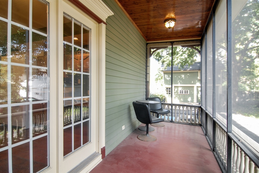 Real Estate Photography - 545 W Downer Place, Aurora, IL, 60506 - Porch
