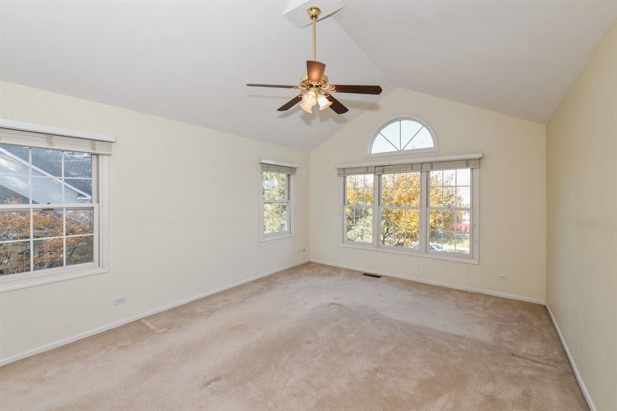 Real Estate Photography - 544 Harlowe Ln, 544, Naperville, IL, 60565 - Master Bedroom