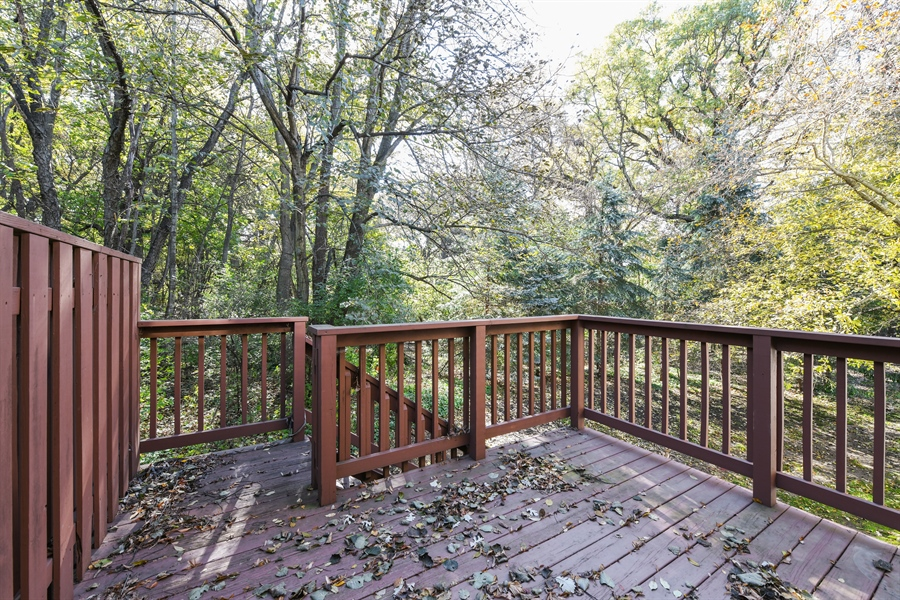Real Estate Photography - 544 Harlowe Ln, 544, Naperville, IL, 60565 - Deck