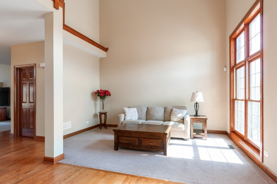 Real Estate Photography - 26112 W. Chatham Dr., Plainfield, IL, 60585 - Living Room