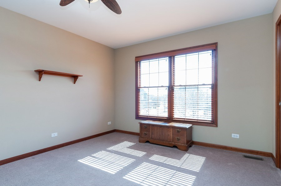 Real Estate Photography - 26112 W. Chatham Dr., Plainfield, IL, 60585 - 2nd Bedroom