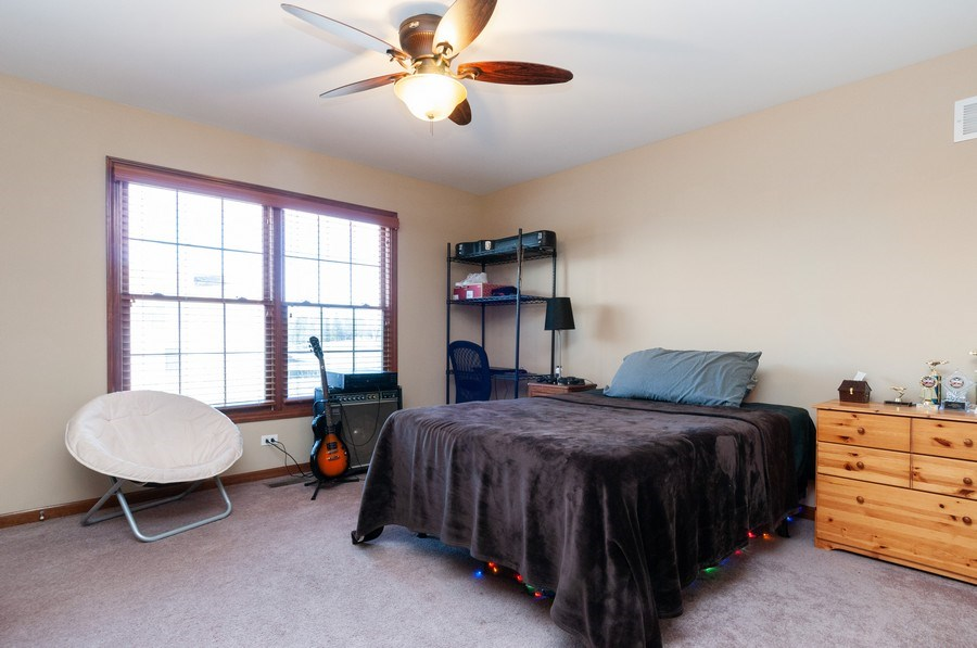 Real Estate Photography - 26112 W. Chatham Dr., Plainfield, IL, 60585 - 4th Bedroom