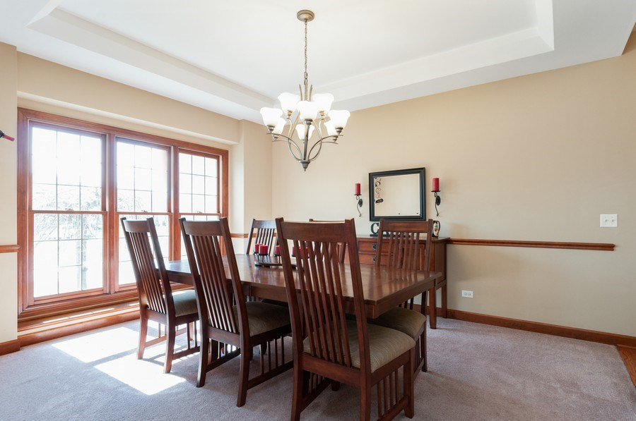Real Estate Photography - 26112 W. Chatham Dr., Plainfield, IL, 60585 - Dining Room