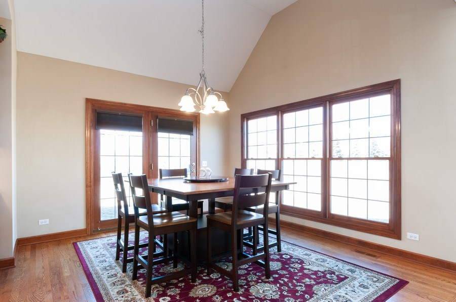 Real Estate Photography - 26112 W. Chatham Dr., Plainfield, IL, 60585 - Breakfast Area