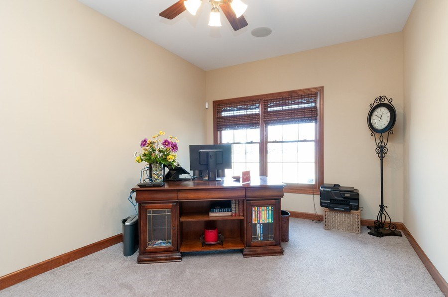 Real Estate Photography - 26112 W. Chatham Dr., Plainfield, IL, 60585 - Office