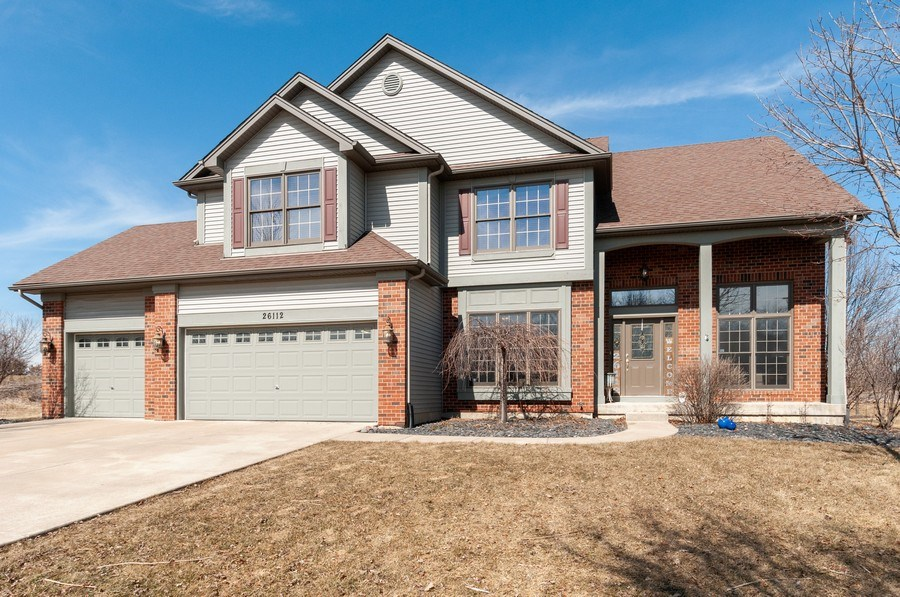 Real Estate Photography - 26112 W. Chatham Dr., Plainfield, IL, 60585 - Front View