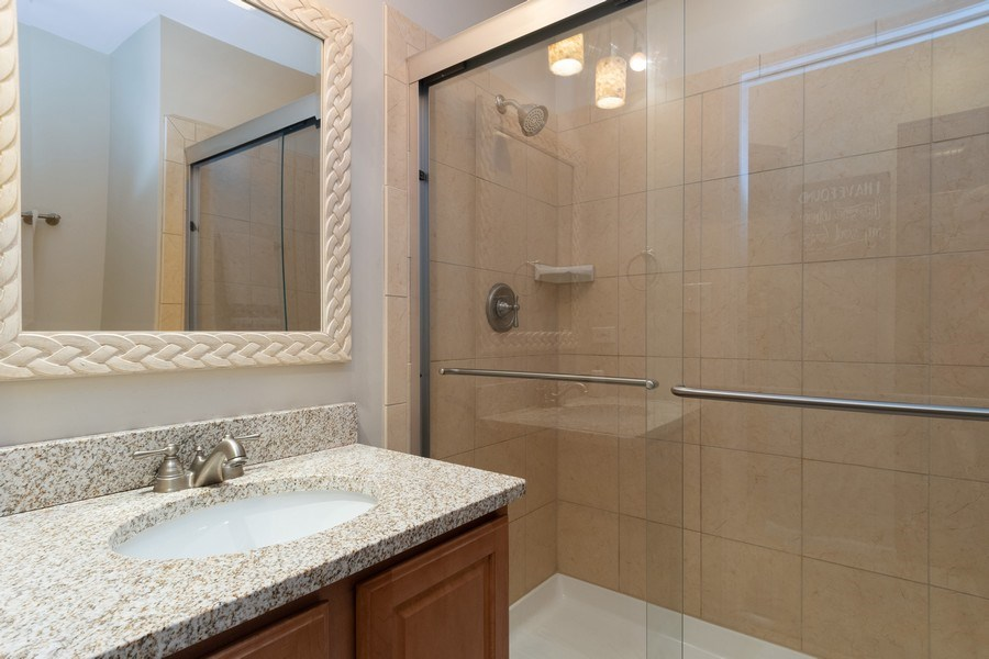 Real Estate Photography - 986 West Ct, Naperville, IL, 60563 - 2nd Bathroom
