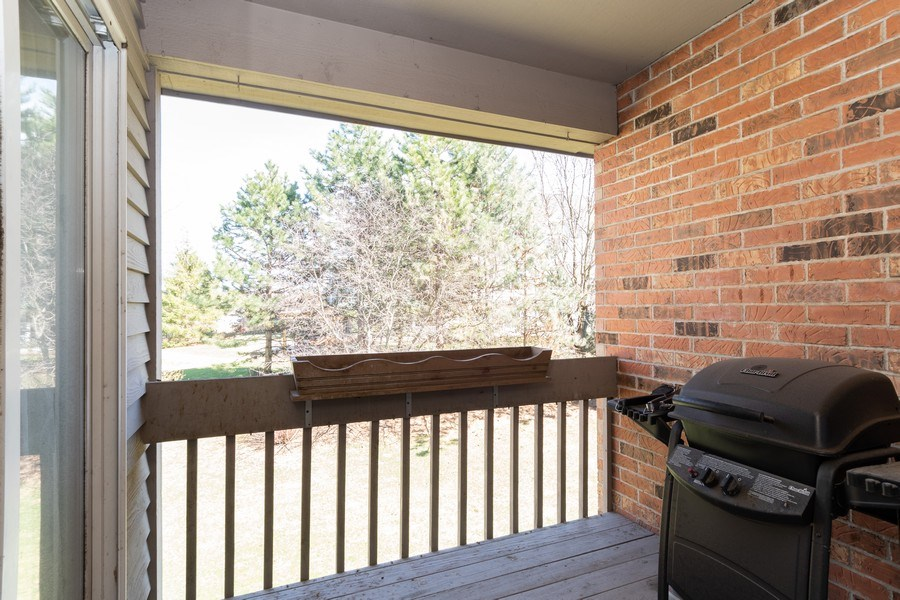 Real Estate Photography - 986 West Ct, Naperville, IL, 60563 - Balcony