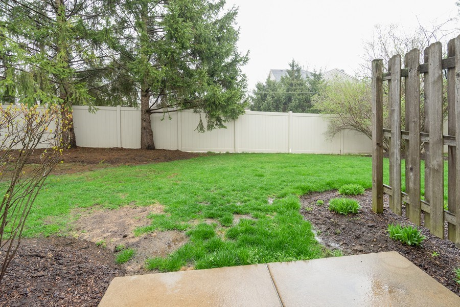 Real Estate Photography - 927 Creekside Cir, Lombard, IL, 60148 - Back Yard