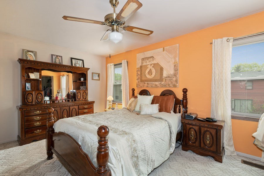 Real Estate Photography - 1161 Parker Ave, Downers Grove, IL, 60516 - Master Bedroom