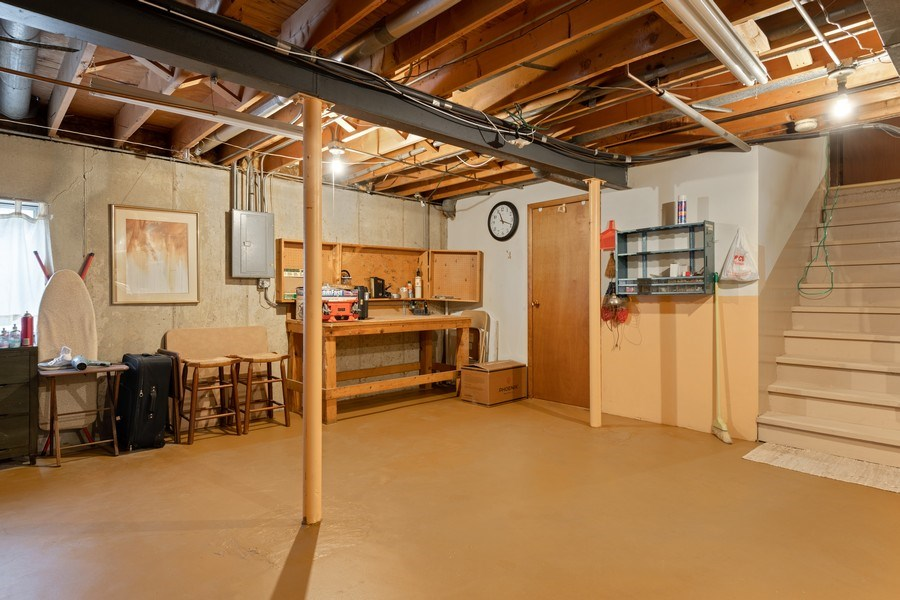 Real Estate Photography - 1161 Parker Ave, Downers Grove, IL, 60516 - Basement