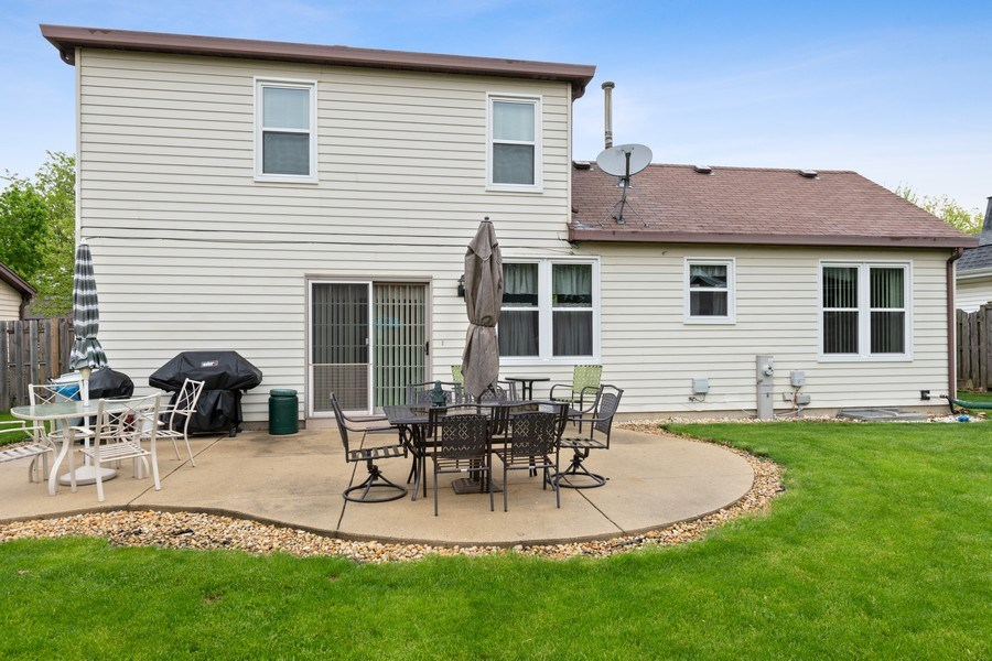 Real Estate Photography - 1161 Parker Ave, Downers Grove, IL, 60516 - Rear View
