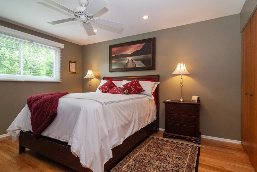 Real Estate Photography - 2210 Kingston, Wheaton, IL, 60189 - 2nd Bedroom