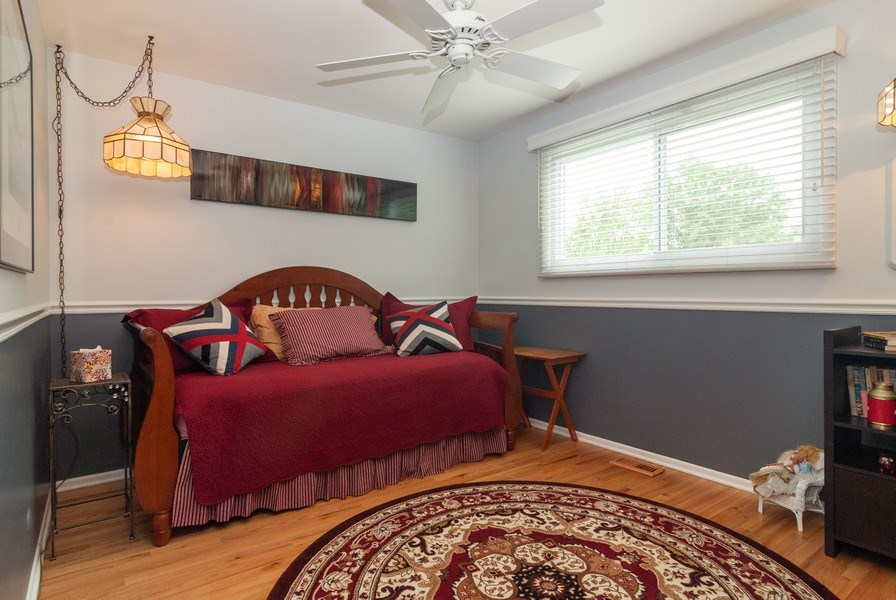 Real Estate Photography - 2210 Kingston, Wheaton, IL, 60189 - 3rd Bedroom