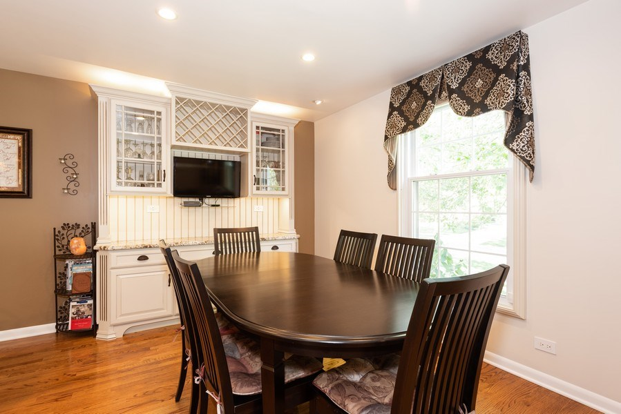 Real Estate Photography - 2210 Kingston, Wheaton, IL, 60189 - Dining Room