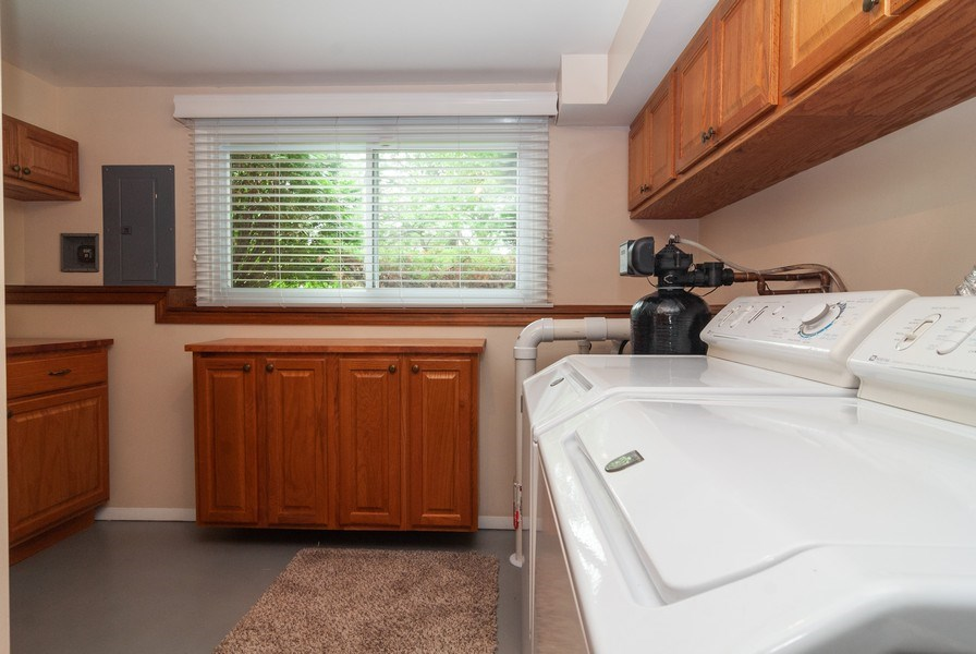 Real Estate Photography - 2210 Kingston, Wheaton, IL, 60189 - Laundry Room