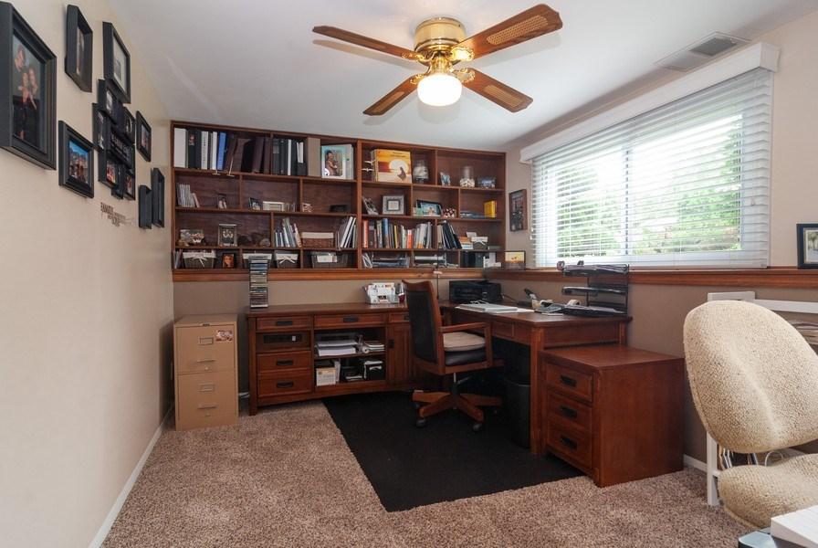 Real Estate Photography - 2210 Kingston, Wheaton, IL, 60189 - Den