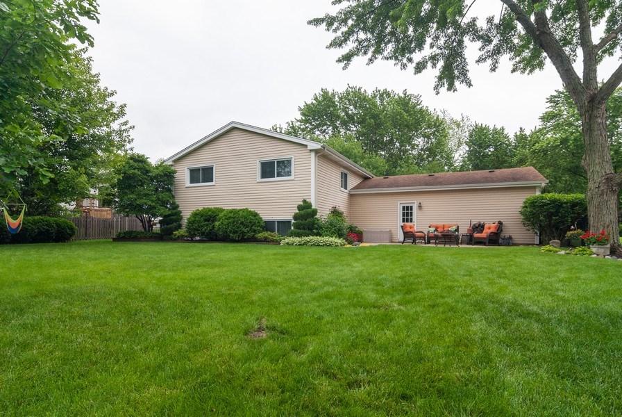 Real Estate Photography - 2210 Kingston, Wheaton, IL, 60189 - Rear View