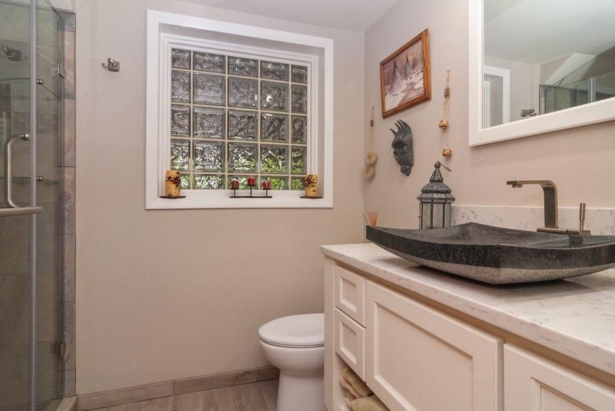 Real Estate Photography - 2210 Kingston, Wheaton, IL, 60189 - Bathroom